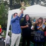 Alexis Martinez, Gewinner des Goldenen Gartenzwerges 2014