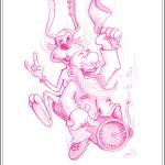 Chris Schlag: Comicgarten Skizze
